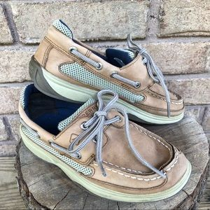 Sperry Top Sider Lanyard Boys Shoes size 1